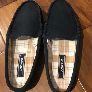 NEW Lands End women's slippers